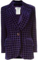 Christian Dior Vintage Blazer En Velo