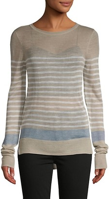 DOLCE CABO Striped Knit Pullover