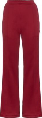 Moncler Side stripe cotton-blend track pants