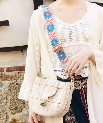 BEIGE Sutasuta SutaSuta Women's Crossbodies mix & Pink Plaid Shoulder Bag