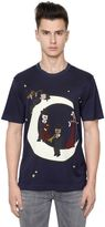 Dolce & Gabbana Music Moon Printed Cotton Jersey T-Shirt