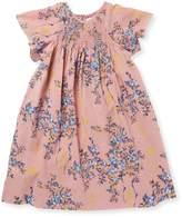 Elephantito Floral Smocked Cotton Tunic Dress