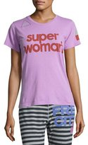 Freecity Super Woman Short-Sleeve T-Shirt, Pink