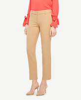 Ann Taylor The Petite Ankle Pant In Double Cloth - Devin Fit