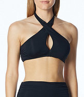 Coco Rave Solid Rhea Convertible Underwire Wrap Bra-Sized Top