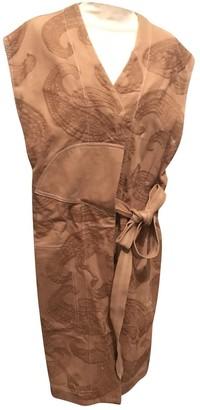 Acne Studios Camel Cotton Coat for Women