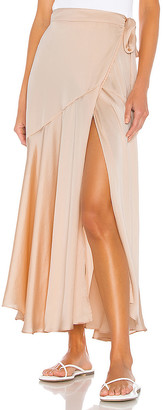 Free People So Silky Wrap Half Slip Skirt