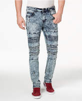 Young & Reckless Men's Cezare Slim-Fit Ripped Jeans