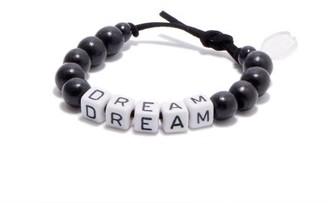 LAUREN RUBINSKI Dream Beaded Bracelet - Black