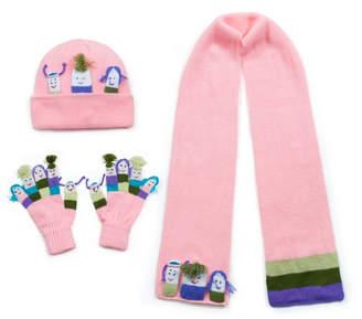 Kidorable Little and Big Girl Knitwear Set