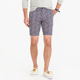 "J.Crew 9"" Lightweight Cotton Short In Daisy Floral"