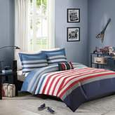 Bed Bath & Beyond Mizone Kyle Twin/Twin XL Comforter Set in Red/Blue