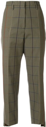 Golden Goose Checked Straight Trousers