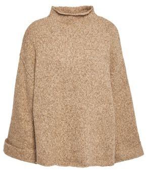 Line Melange Cotton-blend Turtleneck Sweater
