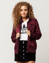 Members Only Satin Womens Bomber Jacket