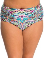 Kenneth Cole Plus Size Hot to Trot High Waist Bikini Bottom 8139315
