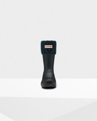 Hunter Original Cable Cuff Short Boot Socks