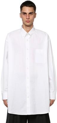 Maison Margiela Oversized Cotton Shirt W/ Pocket