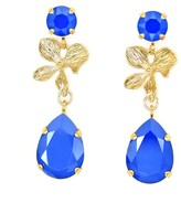 Rosaspina Firenze Royal Blue Orchid Earrings