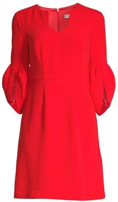 Trina Turk Wine Country Covelo V-Neck Dress