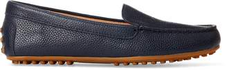 Ralph Lauren Bartlett Leather Flat