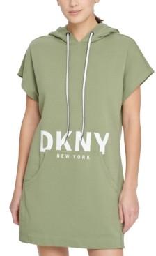 DKNY Sport Logo Hoodie Sneaker Dress
