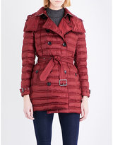 Burberry Chesterford quilted shell coat