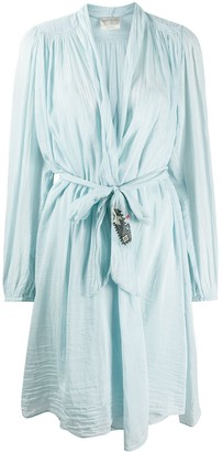 Forte Forte Waist-Tied Fitted Robe