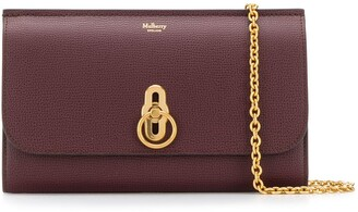 Mulberry Amberley Cross Grain clutch bag