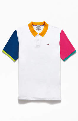 Tommy Jeans Colorblock Polo Shirt
