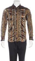 Jean Paul Gaultier Metallic Striped Shirt