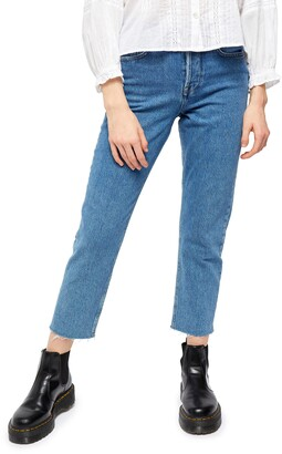 BDG Urban Outfitters Dillon Ankle High Rise Straight Leg Jeans