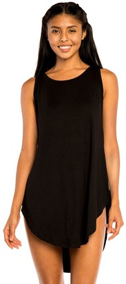 Jordan Taylor Women's Beachwear Cutout Sleeveless Cover Up