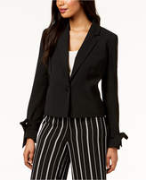 Nine West Tie-Cuff Blazer
