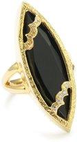 "Melinda Maria Sassy Collection"" Black Onyx Sassy Marquis Ring, , Size 6"