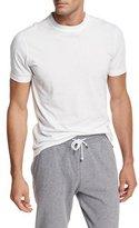 Brunello Cucinelli Marled Crewneck T-Shirt, Pearl Gray