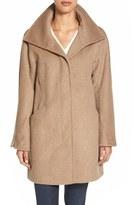 Ellen Tracy Convertible Collar Kimono Sleeve Coat (Regular & Petite) (Nordstrom Exclusive)