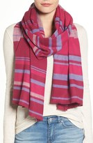 Nordstrom Women's Variegated Stripe Wrap