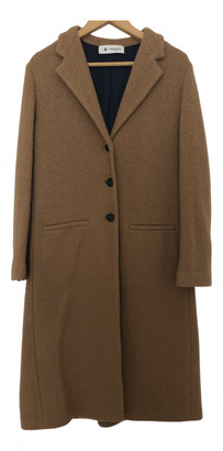 Barena Brown Wool Coats