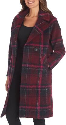 Rachel Roy Raglan Sleeve Topper Coat