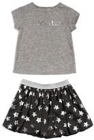 Amy Coe Infant Girls' Superstar Tee & Skirt Set - Sizes 12-24 Months