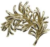 Tiffany & Co. 18K Yellow Gold Leaf Branch Brooch Pin