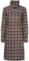 Marni patterned turtleneck dress