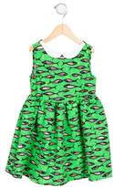 Stella Jean Girls' Ninfea Fish Print Dress w/ Tags
