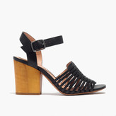 Madewell The Willa Wooden-Heel Sandal