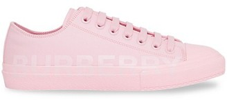 Burberry Larkhall Canvas Sneakers