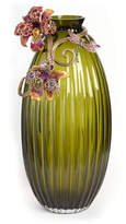 Jay Strongwater Jonah Lily Scroll Vase