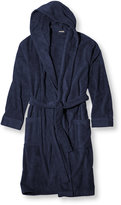 L.L. Bean Terry Cloth Hooded Robe