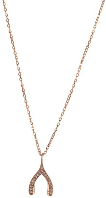 Wild Hearts Make A Wish Necklace Rose Gold