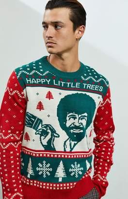 Bob Ross Christmas Sweater